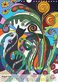 Kätz, Petra Kolossa, Pop-Art-Kunstdrucke (Wandkalender 2019 DIN A4 hoch) - Produktdetailbild 8