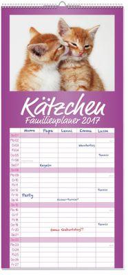 Kätzchen Familienplaner 2017