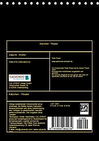 Kätzchen - Theater (Tischkalender 2019 DIN A5 hoch) - Produktdetailbild 13