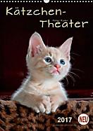 Kätzchen - Theater (Wandkalender 2017 DIN A3 hoch)