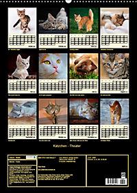 Kätzchen - Theater (Wandkalender 2019 DIN A2 hoch) - Produktdetailbild 13