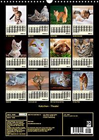 Kätzchen - Theater (Wandkalender 2019 DIN A3 hoch) - Produktdetailbild 13
