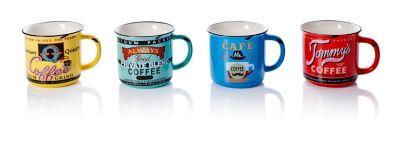 Kaffeebecher Nostalgie, 4er Set