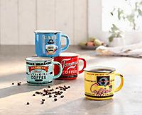 """Kaffeebecher """"Nostalgie"""", 4er Set - Produktdetailbild 1"""