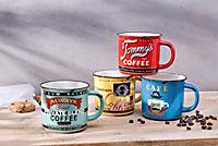 """Kaffeebecher """"Nostalgie"""", 4er Set - Produktdetailbild 2"""