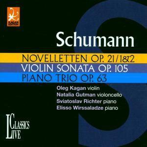 Kagan Edition Vol. 17 (Schumann), Oleg Kagan, Gutman, Richter