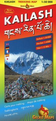 Kailash Trekking Map, Arne Rohweder
