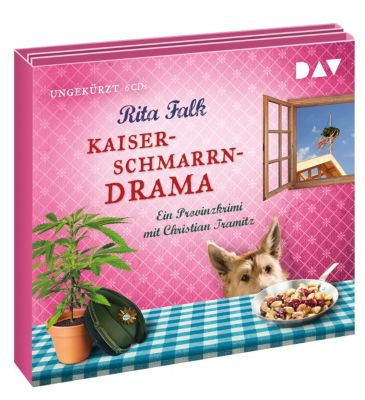 Kaiserschmarrndrama. Ein Provinzkrimi, 6 Audio-CDs, Rita Falk