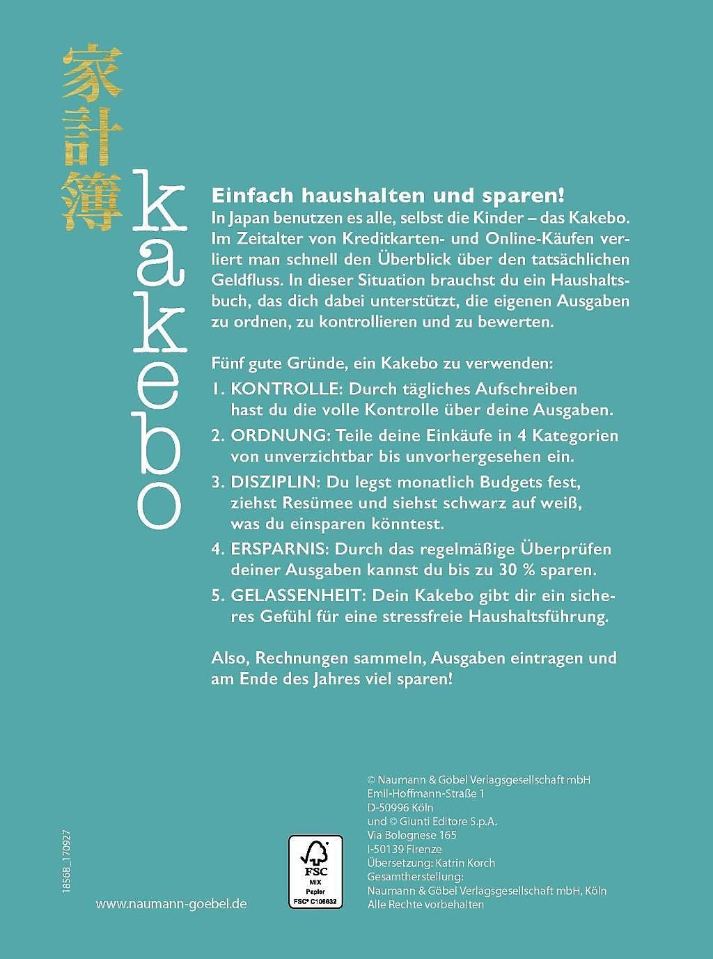 Kakebo Das Haushaltsbuch Buch Bei Weltbild De Online Bestellen