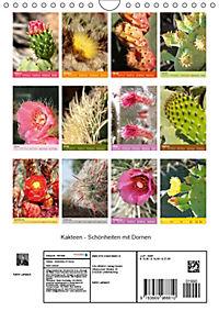 Kakteen - Schönheiten mir Dornen (Wandkalender 2019 DIN A4 hoch) - Produktdetailbild 13