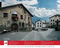 Kalender 2018: Das schönste Dorf der Schweiz - Produktdetailbild 2