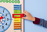 Kalenderuhr aus Holz - Produktdetailbild 6