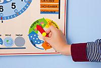 Kalenderuhr aus Holz - Produktdetailbild 7