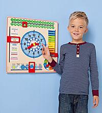 Kalenderuhr aus Holz - Produktdetailbild 2