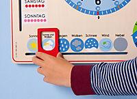 Kalenderuhr aus Holz - Produktdetailbild 5