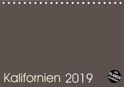 Kalifornien 2019 (Tischkalender 2019 DIN A5 quer), Frank Zimmermann