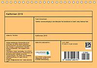 Kalifornien 2019 (Tischkalender 2019 DIN A5 quer) - Produktdetailbild 13