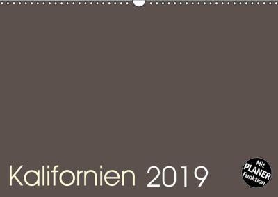 Kalifornien 2019 (Wandkalender 2019 DIN A3 quer), Frank Zimmermann