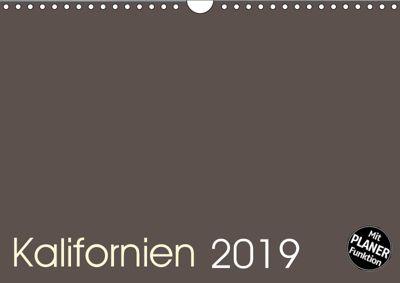 Kalifornien 2019 (Wandkalender 2019 DIN A4 quer), Frank Zimmermann