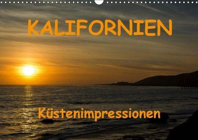 KALIFORNIEN Küstenimpressionen (Wandkalender 2019 DIN A3 quer), Andreas Schön