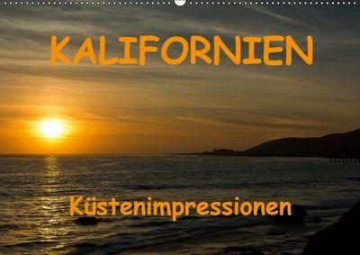 KALIFORNIEN Küstenimpressionen (Wandkalender 2019 DIN A2 quer), Andreas Schön