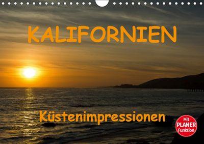 KALIFORNIEN Küstenimpressionen (Wandkalender 2019 DIN A4 quer), Andreas Schön