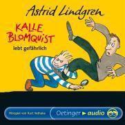 Kalle Blomquist lebt gefährlich, 1 Audio-CD, Astrid Lindgren