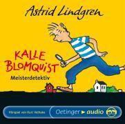 Kalle Blomquist Meisterdetektiv, 1 Audio-CD, Astrid Lindgren