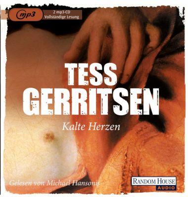 Kalte Herzen, 2 MP3-CDs, Tess Gerritsen