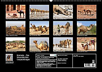 Kamele - Die freundlichen Gepäckträger (Wandkalender 2019 DIN A2 quer) - Produktdetailbild 13