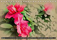 Kamelien Blüten (Tischkalender 2019 DIN A5 quer) - Produktdetailbild 5