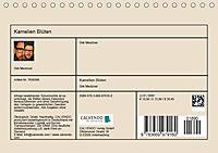 Kamelien Blüten (Tischkalender 2019 DIN A5 quer) - Produktdetailbild 13