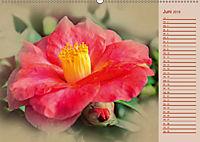 Kamelien Blüten (Wandkalender 2019 DIN A2 quer) - Produktdetailbild 6