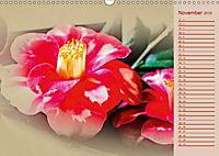 Kamelien Blüten (Wandkalender 2019 DIN A3 quer) - Produktdetailbild 11