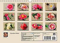Kamelien Blüten (Wandkalender 2019 DIN A4 quer) - Produktdetailbild 13