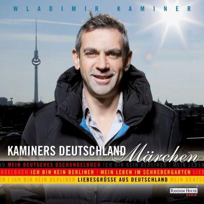 Kaminers Deutschland-Märchen, 8 Audio-CDs, Wladimir Kaminer