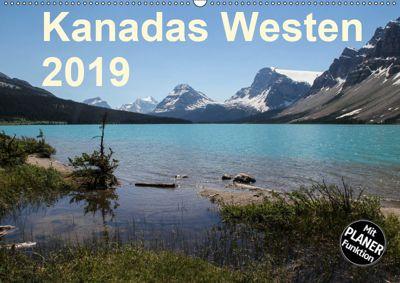 Kanadas Westen 2019 (Wandkalender 2019 DIN A2 quer), Frank Zimmermann