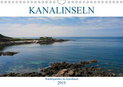 Kanalinseln - Wanderparadies im Ärmelkanal (Wandkalender 2019 DIN A4 quer), Gabriele Dippel