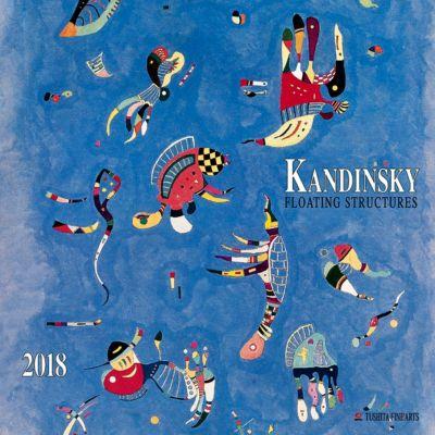 Kandinsky - Floating Structures 2018, Wassily Kandinsky
