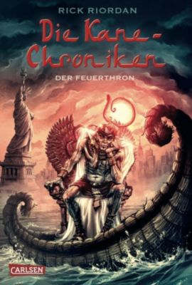 Kane-Chroniken Band 2: Der Feuerthron, Rick Riordan