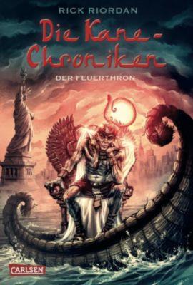 Kane-Chroniken Band 2: Der Feuerthron, Rick Riordan