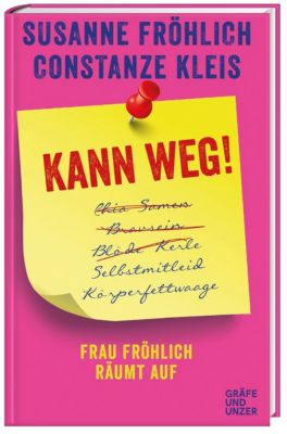Kann weg!, Susanne Fröhlich, Constanze Kleis