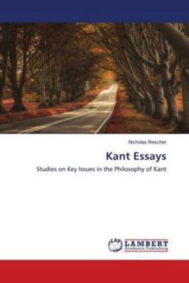 Kant Essays, Nicholas Rescher