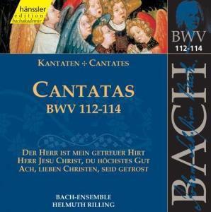 Kantaten Bwv 112-114, Bach-Collegium, Rilling