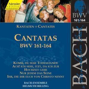 Kantaten Bwv 161-164, Bach-Collegium, Helmuth Rilling