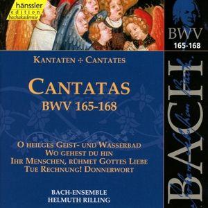 Kantaten Bwv 165-168, Bach-Collegium, Helmuth Rilling