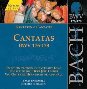 Kantaten Bwv 176-178, Bach-Collegium, Helmuth Rilling