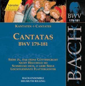 Kantaten Bwv 179-181, Johann Sebastian Bach
