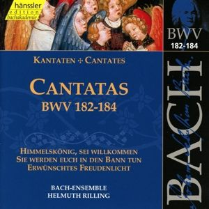 Kantaten Bwv 182-184, Bach-Collegium, Helmuth Rilling