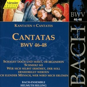Kantaten Bwv 46-48, Rilling, Bach-Collegium